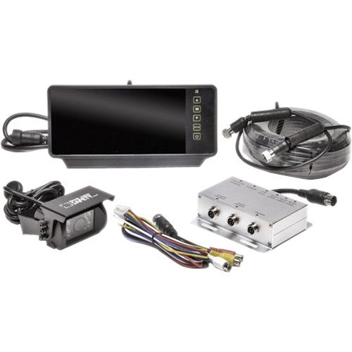 "Rear View Safety Rear View Backup Camera System with 7"" Mirror Monitor"