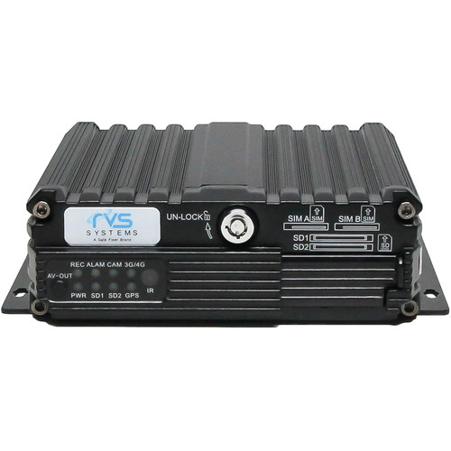 Rear View Safety MobileMule 5500 4-Channel Mobile DVR with GPS