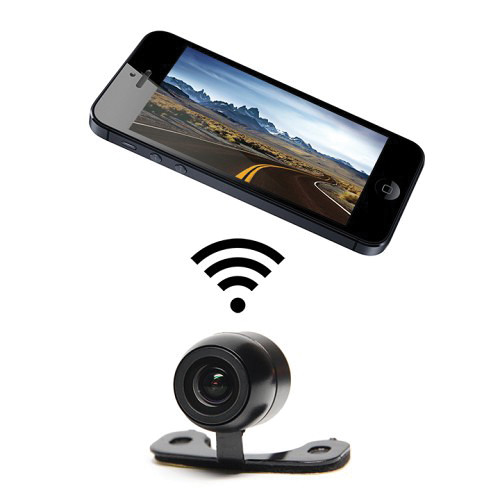 Rear View Safety GoVue Wi-Fi Backup Camera System