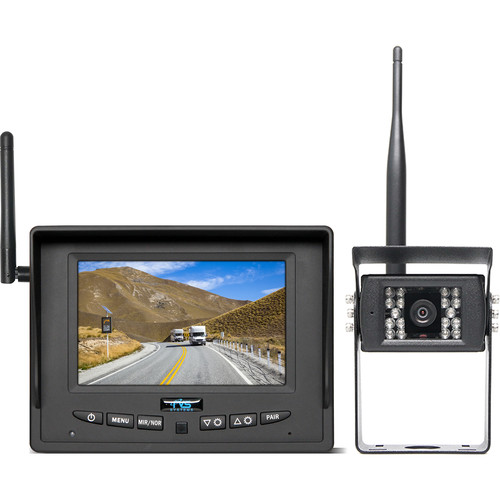 """Rear View Safety RVS-155W Wireless Backup Camera System with 5"""" Monitor"""