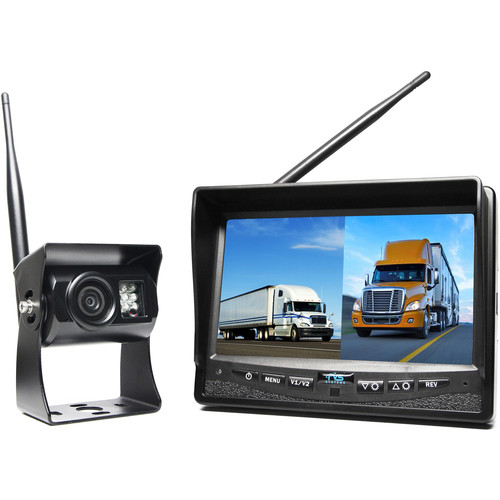 Rear View Safety RVS-2CAM Wireless Backup Camera System