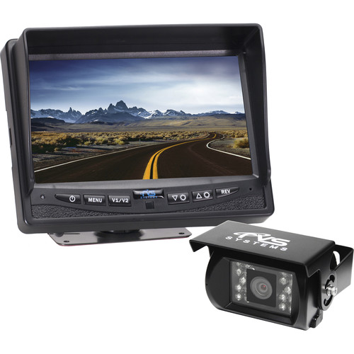 """Rear View Safety 7"""" Commercial Grade Backup Camera System"""
