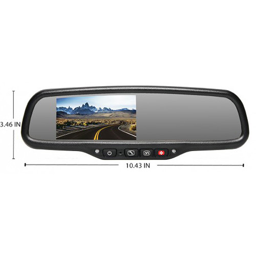 Rear View Safety G-SERIES Backup Camera System with Auto Dimming and OnStar