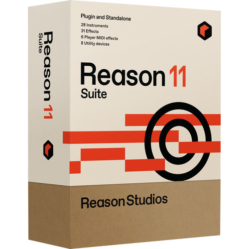 Reason Studios Reason 11 Suite Music Production Software (Upgrade from Full Version of Reason, Boxed)