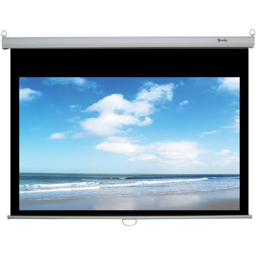 "Recordex USA ReTract Plus Premium Manual Wall/Ceiling Projector Screen (50 x 80"")"