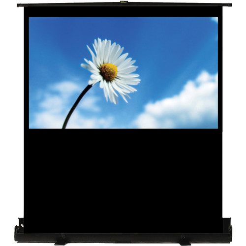 "Recordex USA TheaterNow! Portable Pull-Up Screen with PerfectLift Pneumatic Frame (36 x 64"")"