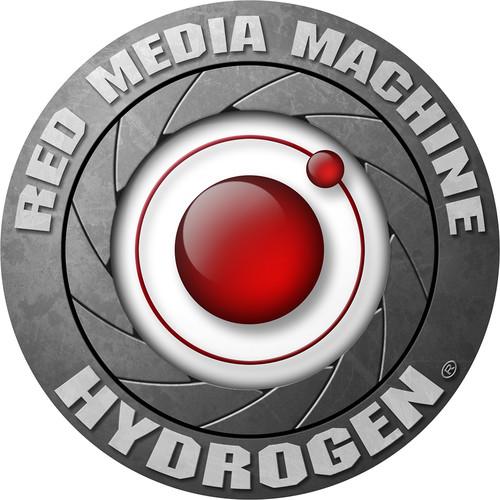 """RED DIGITAL CINEMA HYDROGEN Logo Sticker (5"""")"""