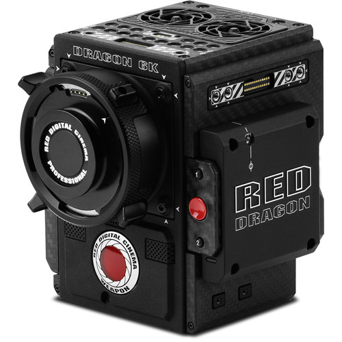 RED DIGITAL CINEMA WEAPON Carbon Fiber Brain with DRAGON 6K Sensor (PL Mount)