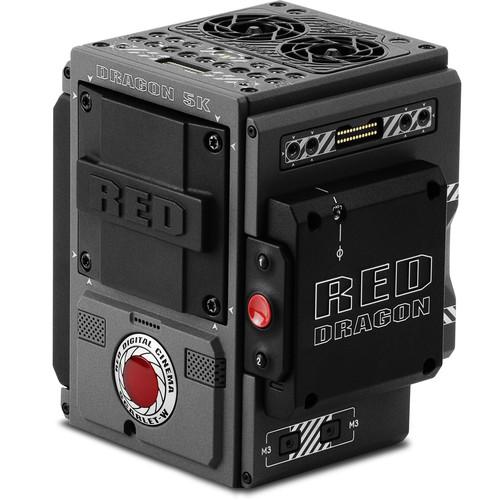 RED DIGITAL CINEMA SCARLET-W BRAIN with DRAGON 5K Sensor (Standard OLPF, Compatible with DSMC2 Accessories)