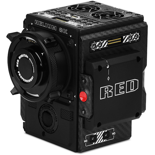 RED DIGITAL CINEMA WEAPON BRAIN with HELIUM 8K S35 Monochrome Sensor (PL, Standard OLPF)