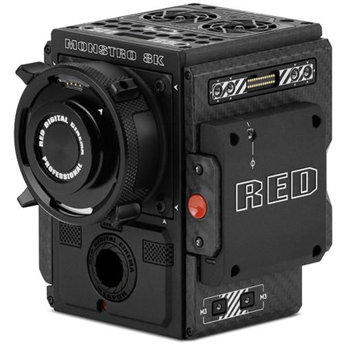 RED DIGITAL CINEMA CF WEAPON BRAIN with MONSTRO 8K VV Sensor (PL, STEALTH)