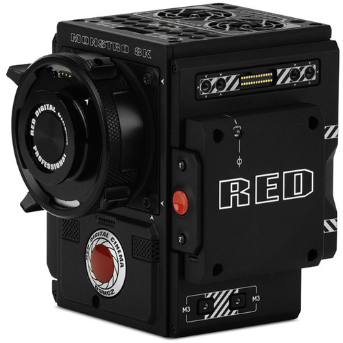 RED DIGITAL CINEMA DSMC2 BRAIN with MONSTRO 8K VV Sensor (Carbon Fiber) (2018 Unified DSMC2 Lineup)