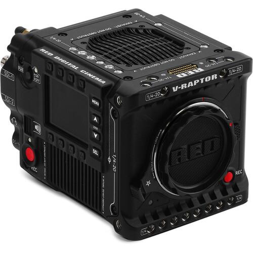 RED DIGITAL CINEMA V-RAPTOR 8K VV + 6K S35 Camera & Starter Pack without Batteries (Canon RF, Black)