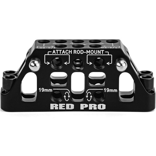 RED DIGITAL CINEMA DSMC Tactical Top Plate Rod Adapter (15/19mm)