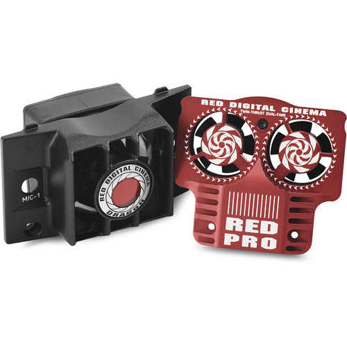 RED DIGITAL CINEMA DSMC Fan 2.0 Upgrade Kit with SCARLET Fan Grill Icon (Top/Bottom)