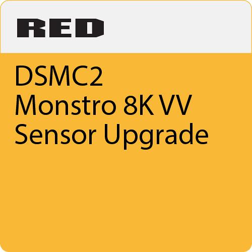 RED DIGITAL CINEMA DSMC2 Monstro 8K VV Sensor Upgrade