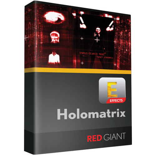 Red Giant Holomatrix (Academic, Download)