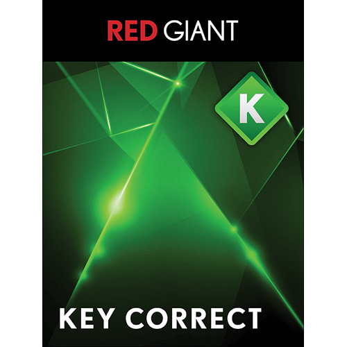 Red Giant Key Correct 1, Customer Upgrade (Download)