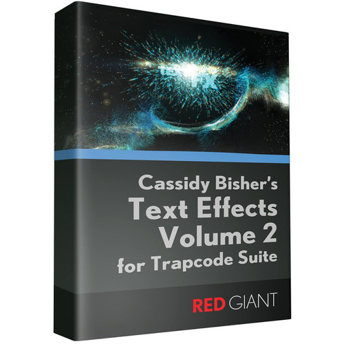 Red Giant Text Effects for Trapcode Volume II (Download)