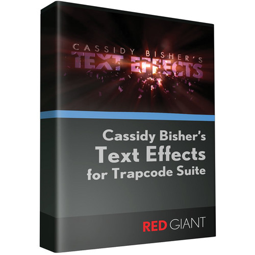 Red Giant Text Effects for Trapcode Volume I (Download)