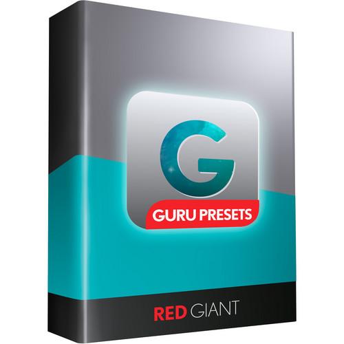 Red Giant Guru Preset Suite Upgrade (Download)