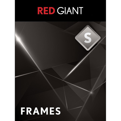 Red Giant Frames Plug-In (Download, Academic Pricing)