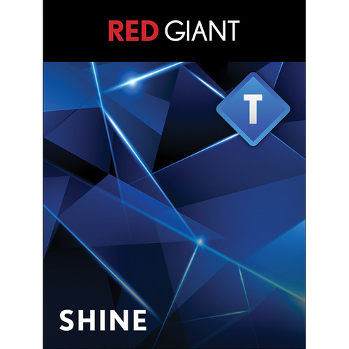 Red Giant Trapcode Shine - Academic (Download)