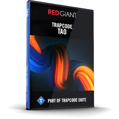 Red Giant Trapcode Tao 1.0 (Download)