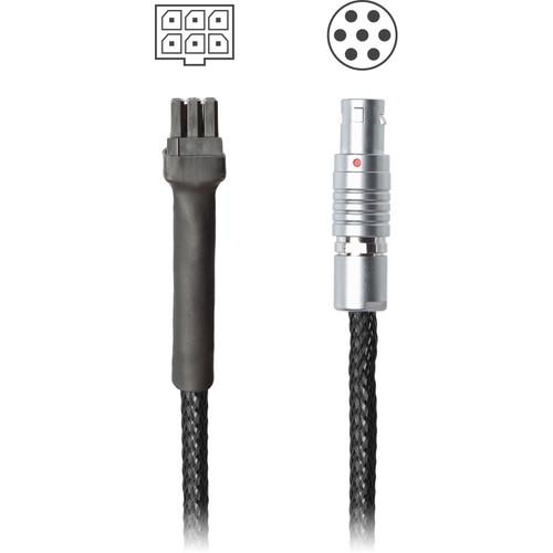 """Redrock Micro MoVI Pro Molex to 7-Pin Digital Motor Connector flexCable (18"""")"""