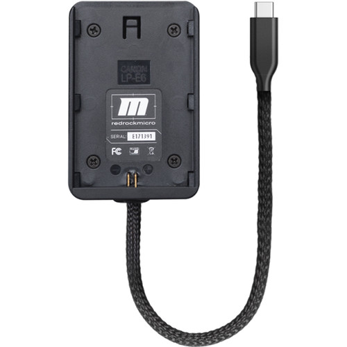 Redrock Micro Commander Powerdock - External Battery Accessory for MoVi Commander