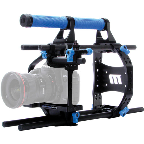 Redrock Micro ultraCage | Blue 15mm Cinema Bundle for DSLR Camera