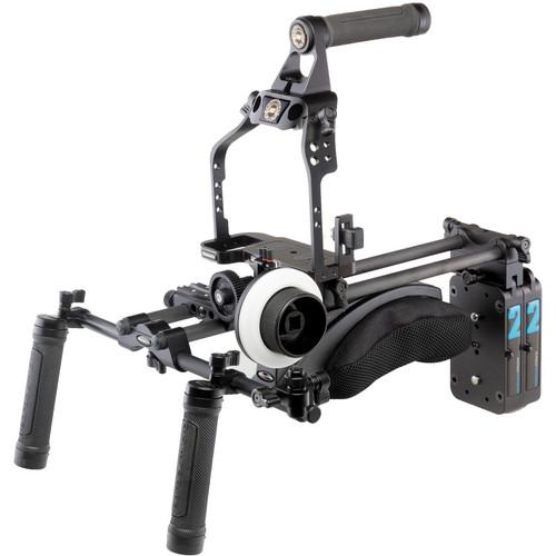 Redrock Micro 8-113-0009 ultraCage Black Ultimate Field Cinema Bundle for DSLR