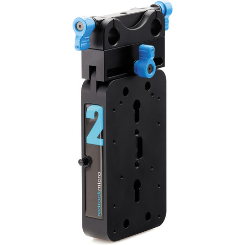 Redrock Micro microBalance QR 2 lb Vertical Starter Weight Kit (Blue)