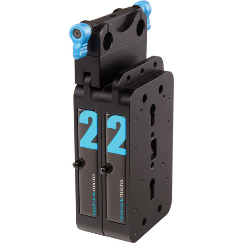 Redrock Micro microBalance QR 4 lb Vertical Weight Kit (Blue)