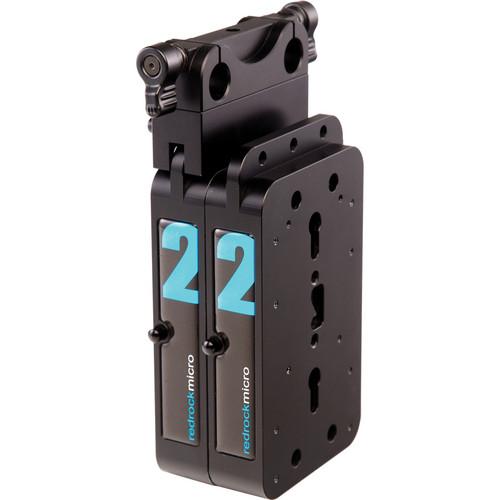 Redrock Micro microBalance QR 4 lb Vertical Weight Kit (Black)
