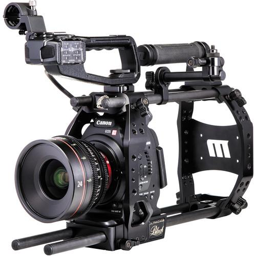Redrock Micro 15mm ultraCage Black Studio Bundle for Canon C100
