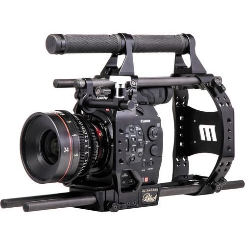 Redrock Micro 15mm ultraCage Black Studio Bundle for Canon C500