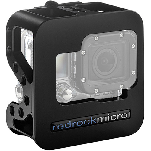 Redrock Micro Cobalt Cage & Deluxe Accessory Kit for GoPro HERO3 / HERO3+ / HERO4