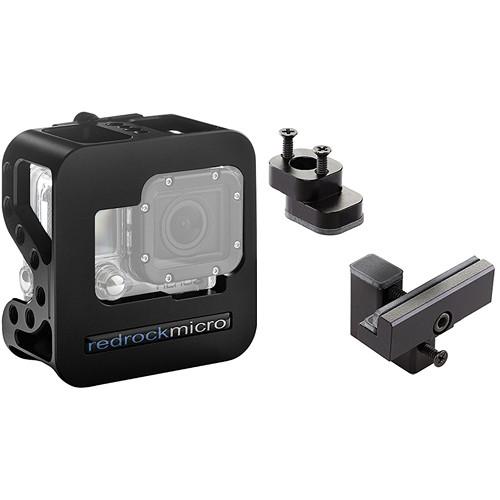 Redrock Micro Cobalt Cage & Deluxe Accessory Kit for GoPro HERO3 / HERO3+ / HERO4