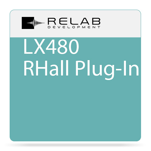 RELAB DEVELOPMENT LX480 RHall Plug-In (Download)