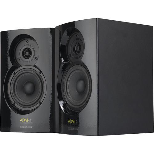 Reloop ADM-4 Active DJ Monitor Speaker Pair