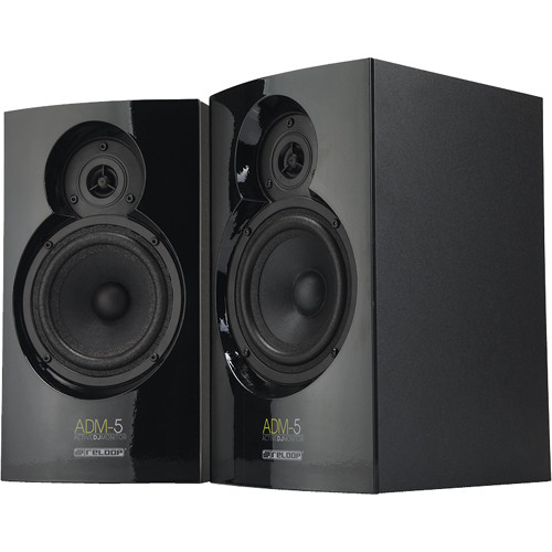 Reloop ADM-5 Active DJ Monitor Speaker Pair