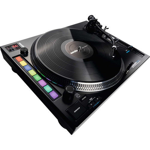 Reloop RP-8000 MK2 - Upper Torque Hybrid Turntable Instrument for Serato DJ Pro