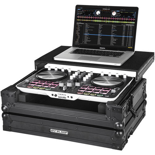 Reloop Hard Case for Beatmix 2 DJ Controller with Sliding Laptop Shelf
