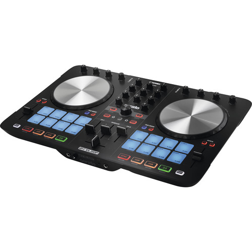 Reloop Beatmix 4 MK2 2-Channel Performance Pad Controller for Serato DJ