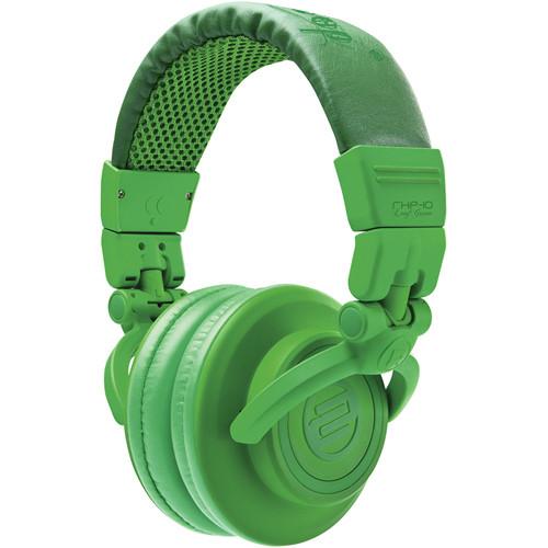 Reloop RHP-10 Closed-Back DJ Headphones (Leafgreen)