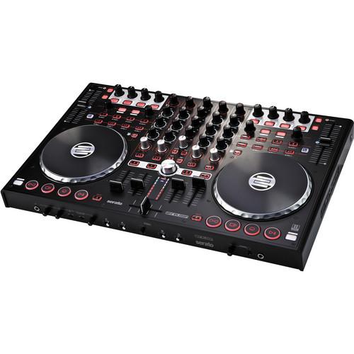 Reloop Terminal Mix 4 Controller with Serato DJ Intro & 4-Deck Virtual DJ LE Software