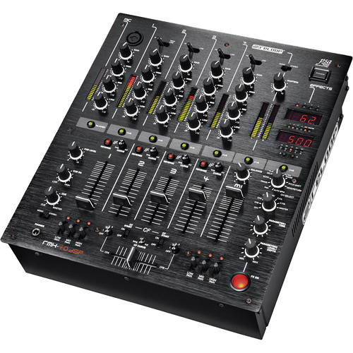 Reloop RMX-40 BlackFire 4-Channel Analog Mixer with DSP