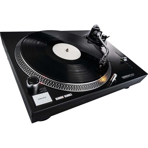 Reloop RP-2000 MK2 Quartz-Driven DJ Turntable (Metallic Black)