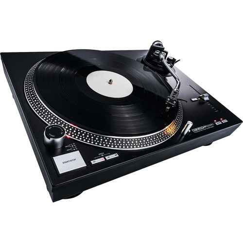 Reloop RP-4000 MK2 Quartz-Driven DJ Turntable with High-Torque Direct Drive